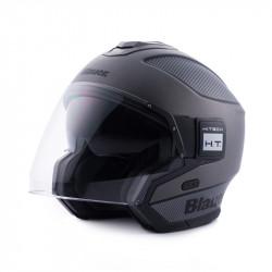 01-img-blauer-casco-de-moto-solo-titanio-carbono-negro