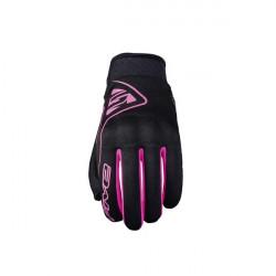 01-img-five-guante-de-moto-globe-woman-negro-rosa