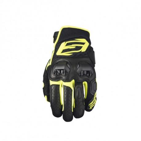 01-img-five-guante-de-moto-sf3-negro-amarillo-fluor
